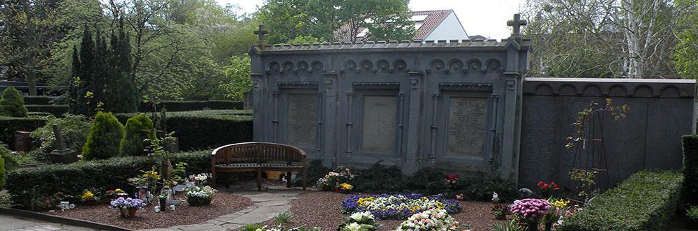 Urnenhain auf dem Neuen St. Nikolai Friedhof in Hannover